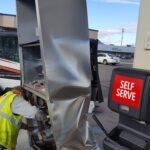 Damaged fuel pump